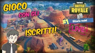 FORTNITE ITA - In Search of Royal Wins 👑 SEASON 5 - / Webcam LIVE