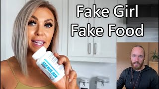 Brittany Dawn: Fake Vegan Food for a Fake Plastic Girl
