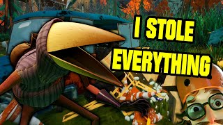 I STOLE EVERYTHING FROM THE NEIGHBOR RAVEN HOUSE! - Hello Neighbor 2 Gameplay