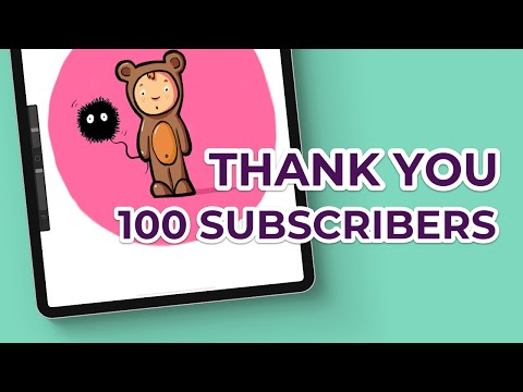 We hit 100 subscribers! Thank you!