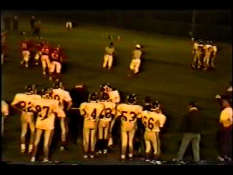 Nebraska Six Man Football Hildreth at Guide Rock Week 7 1997