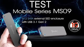 [Cowcot TV] Test boitier SSD externe SILVERSTONE MS09