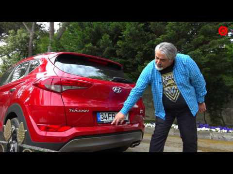 Hyundai Tuscon Ototest