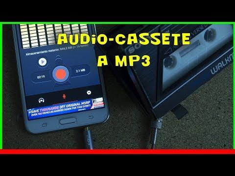 🎶 Convertir AUDIO de Cassetes VIEJOS en MP3   Gadgets Fácil
