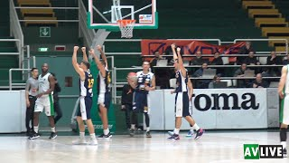 Scandone Avellino-Tecno Switch Ruvo di Puglia 67-71, gli highlights