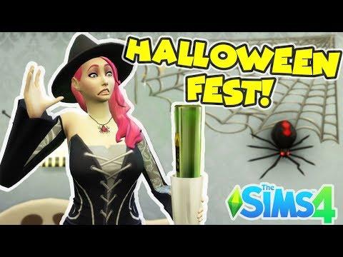 Vi firar Halloween!🎃 The Sims 4 svenska