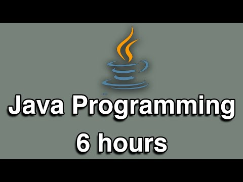 Java Programming All-in-One Tutorial Series (6 HOURS!) thumbnail
