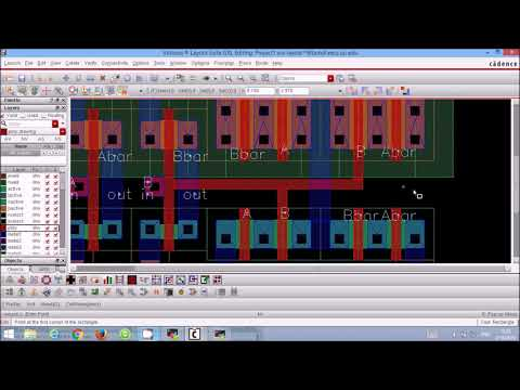 Repeat Cadence Virtuoso Tutorial: CMOS XOR Gate Schematic Symbol and on