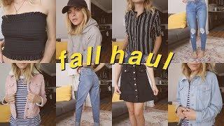 FALL HAUL!//Clothing, Candles, Makeup | Summer Mckeen