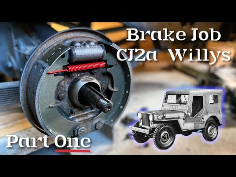 Here's how to install a Willys Jeep Brake Kit for a CJ2A from Ron Fitzpatrick Jeep Parts, Part One