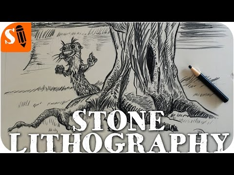 how-stone-lithography-works