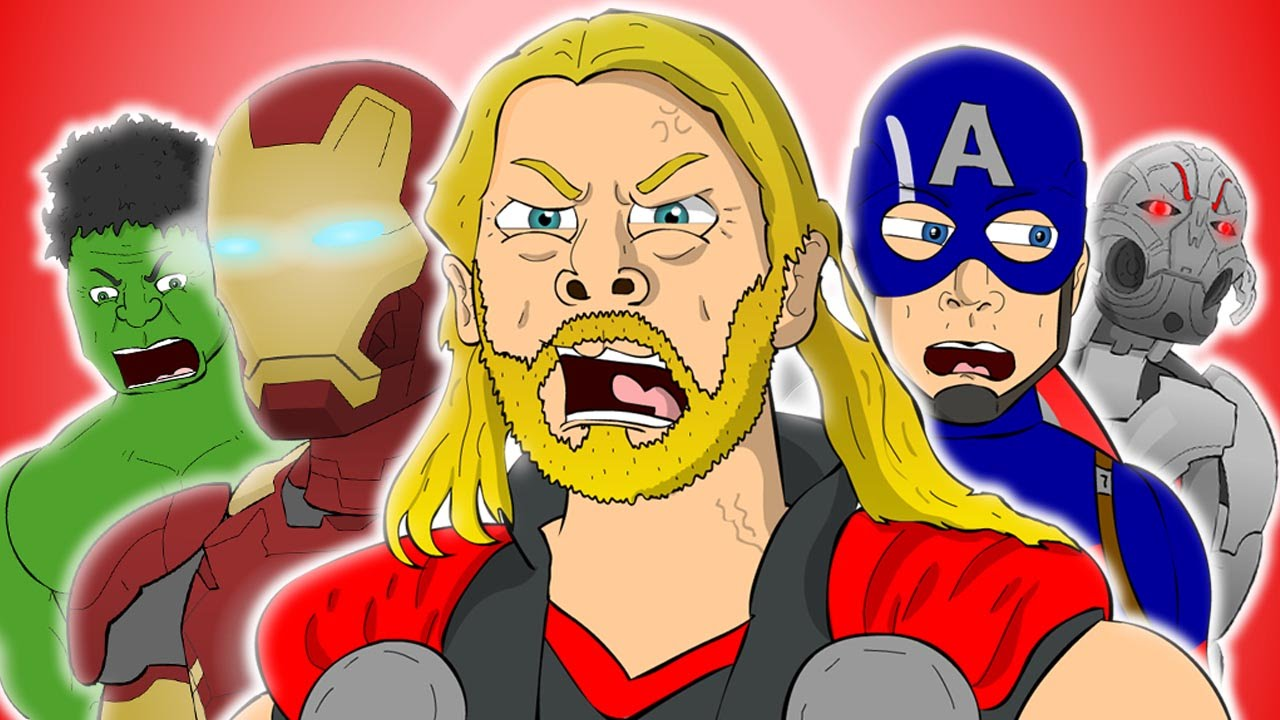 Avengers Age Of Ultron The Musical Animated Song Parody Youtube