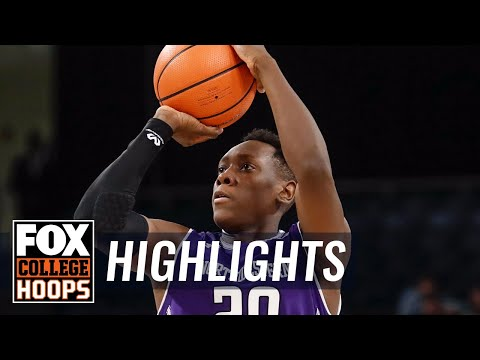 Northwestern vs DePaul | Highlights | FOX COLLEGE HOOPS