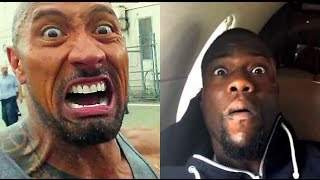 The Rock & Kevin Hart Impersonate each other!