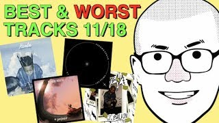 Weekly Track Roundup: 11/18 (J Balvin, Chainsmokers, Hozier, Big K.R.I.T.)