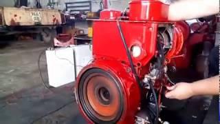 видео Двигатель Hatz 2L41C