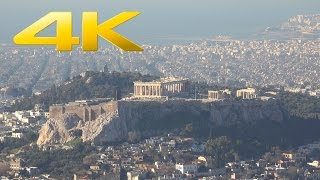4K | Athens, Greece in Ultra High Definition