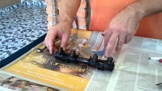 Tonella - limpeza e revisão no eixo dos balancins vw 1/3