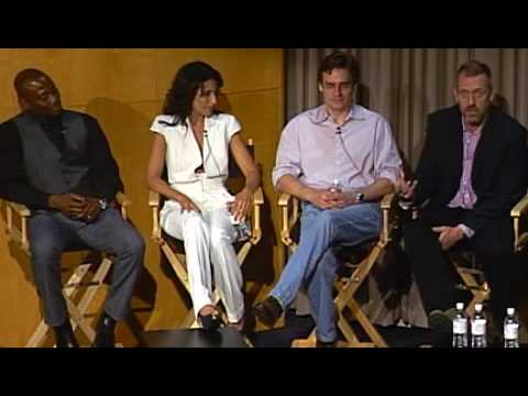 HouseMD - The Paley Center for Media (the House and Lisa kiss)