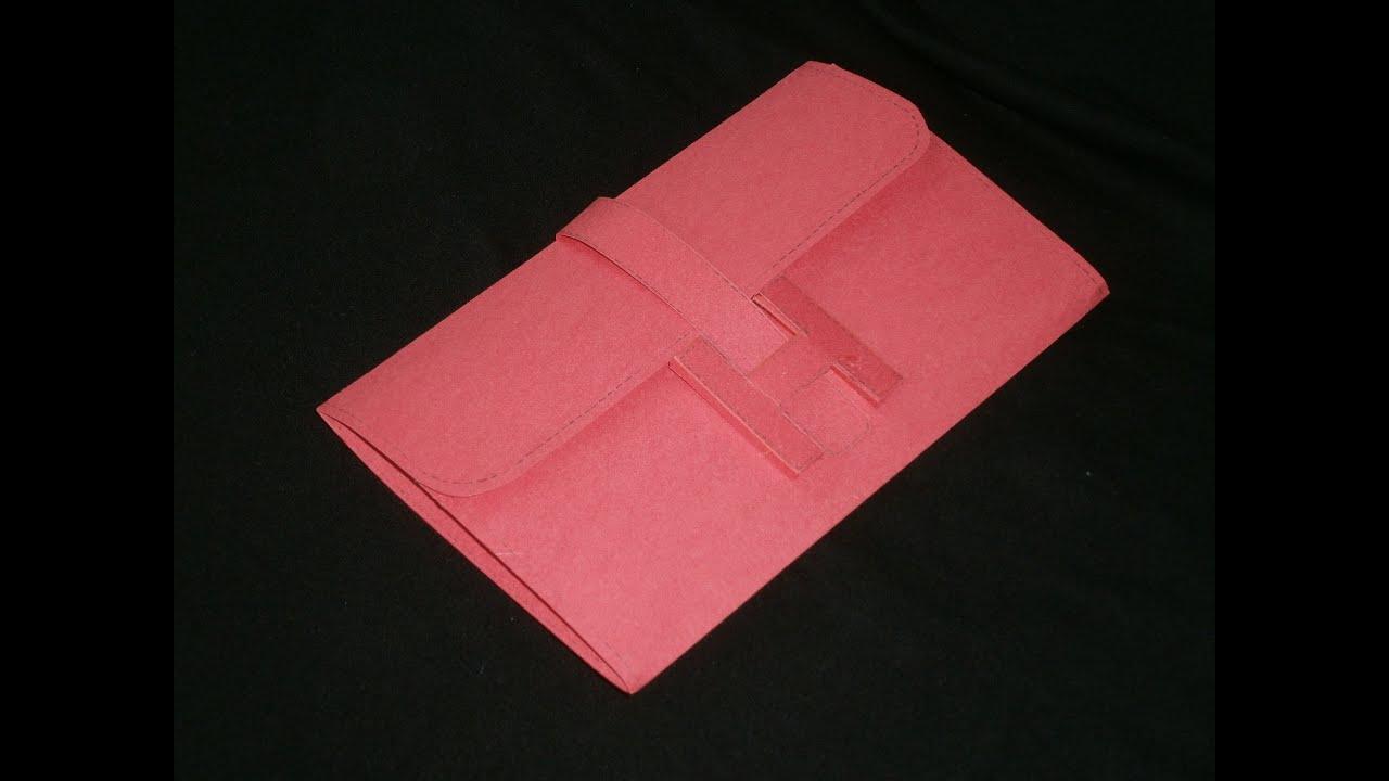 basteln sie ihre eigenen designer tasche aus papier 2 youtube. Black Bedroom Furniture Sets. Home Design Ideas