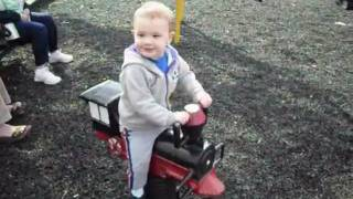 Riding The Train At The Playground.wmv