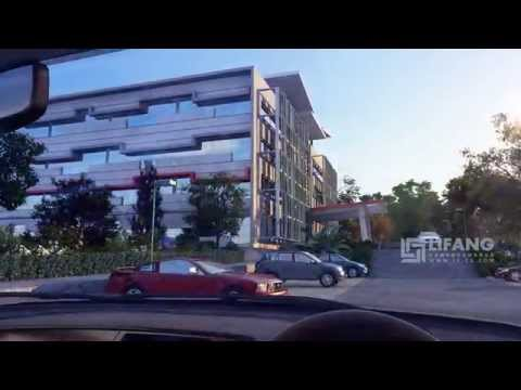 3D CGI Flythrough for a New Office Park Development