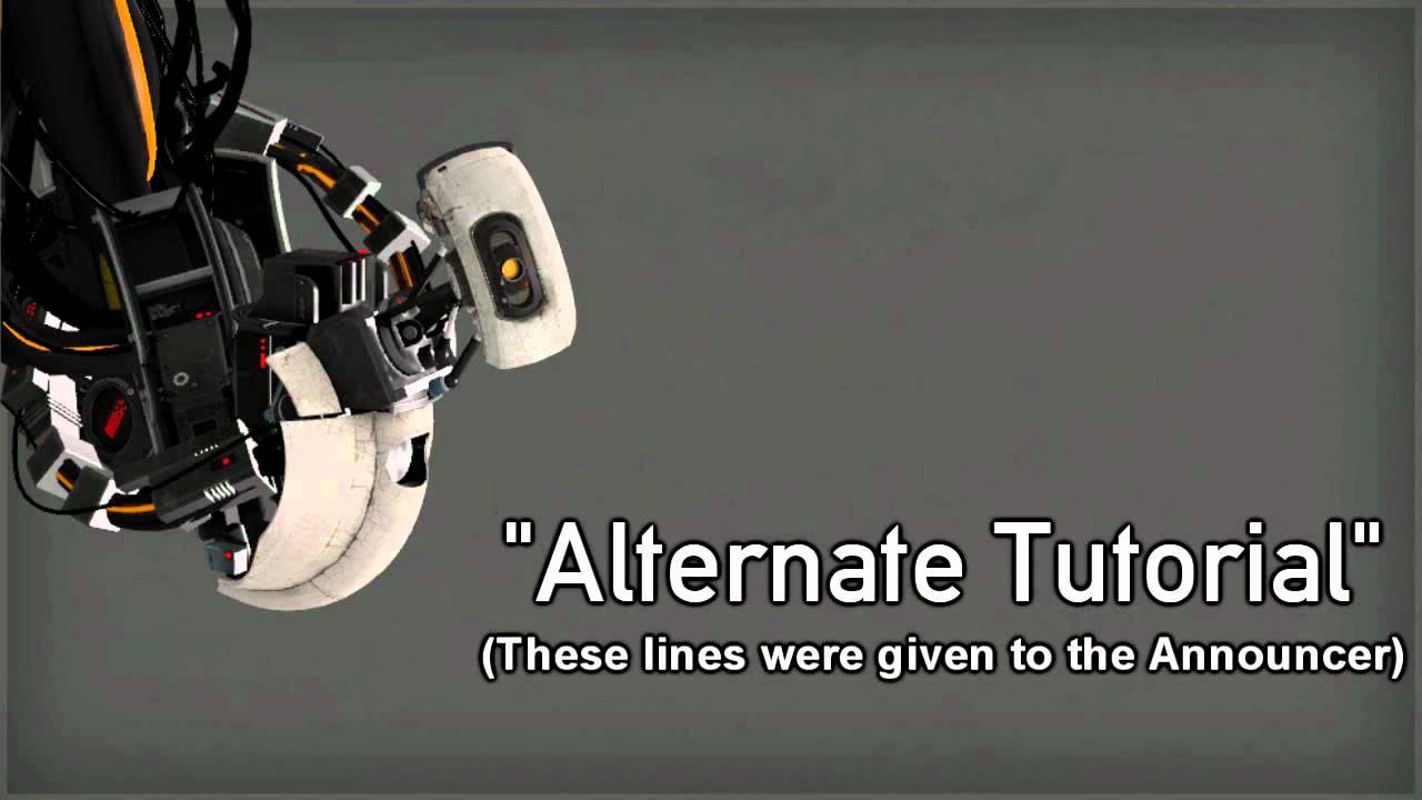 Portal 2 Unused Glados Lines