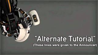Portal 2: Unused GLaDOS Lines