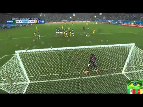 Mexico vs Cameroon  June 13, 2014  Highlights