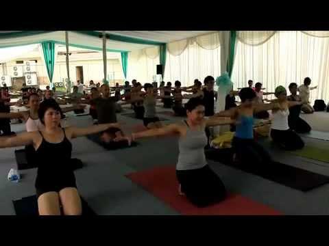 Konstantin Miachin - Vikasa Yoga @ Namaste Festival, Jakarta (Kosta Miachin)