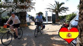 Kleine Radtour in Spanien