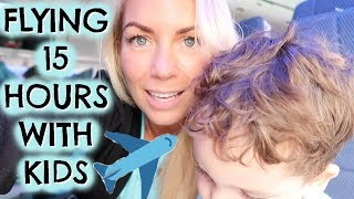 FLYING WITH KIDS  |  TIPS & HOW TO FLY LONG HAUL WITH KIDS  |  EMILY NORRIS