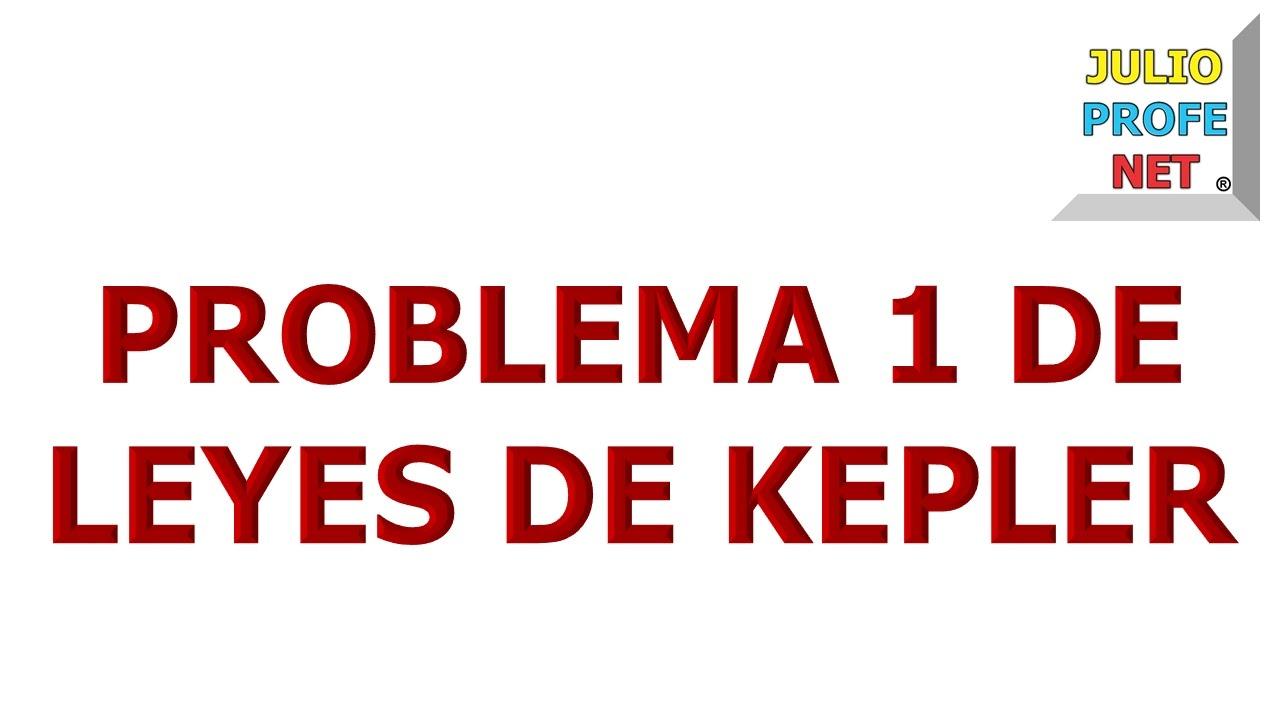 72. Problema 1 de LEYES DE KEPLER