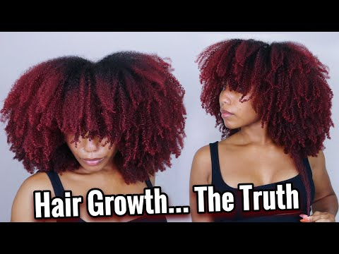 What Nobody Tells You About Growing Long Natural Hair | With Pictures/Videos 👀