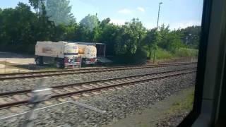 Harz Elbe Express in Richtung Thale