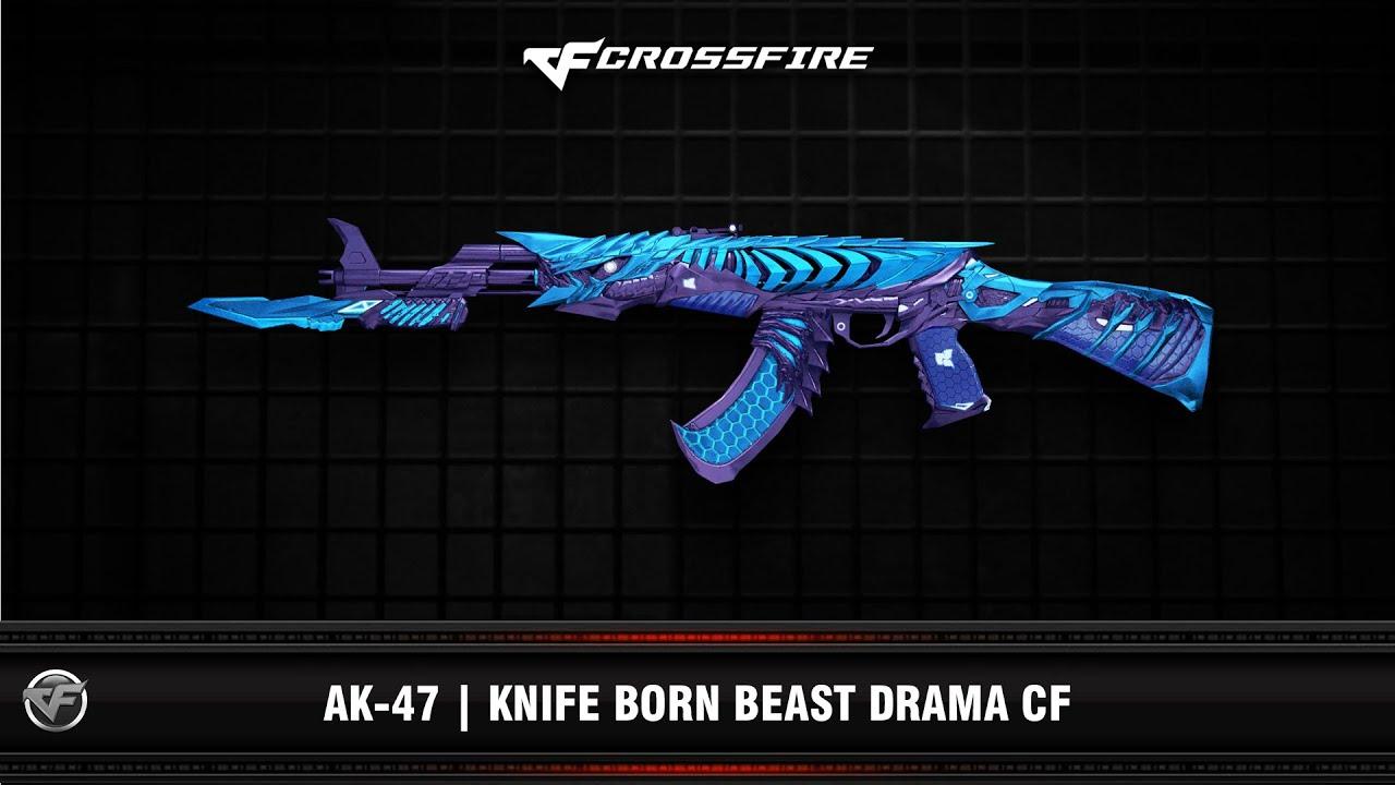 CF : AK-47 | Knife Born Beast Drama CF (VIP AI mode)