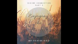 "Divine Connection Part 3 ""Enjoying the Harvest"" Matthew 9: 33 - 38, Genesis 18: 16 - 33"
