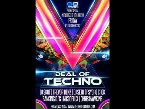 Trevor Benz - Deal Of Techno - (Live @ Decibel Station 08.02.2013)