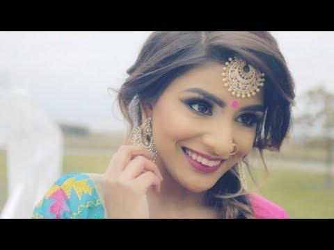 GRWM Punjabi Wedding Style  Paranda Inspired