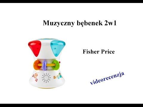 Muzyczny Bębenek 2w1 Fisher Price [videorecenzja]