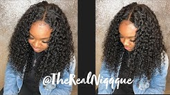 Lace Closure Quick Weave | DSoarHair | MALAYSIAN CURLY HAIR | TheRealNiqqque