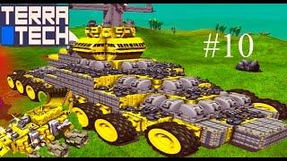 Terra Tech #10 мультик игра про машинки как лего игра конструктор второй боевой БТР БОИ С ВРАГАМИ