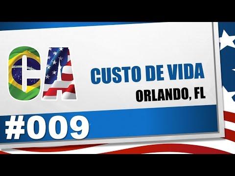 Custo de Vida nos EUA - Orlando, Florida - CA #009