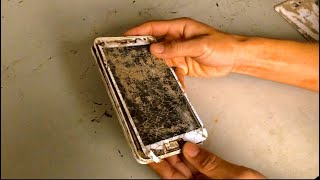 Restoration  broken and severely damaged SAMSUNG GALAXY NOTE 1 phone