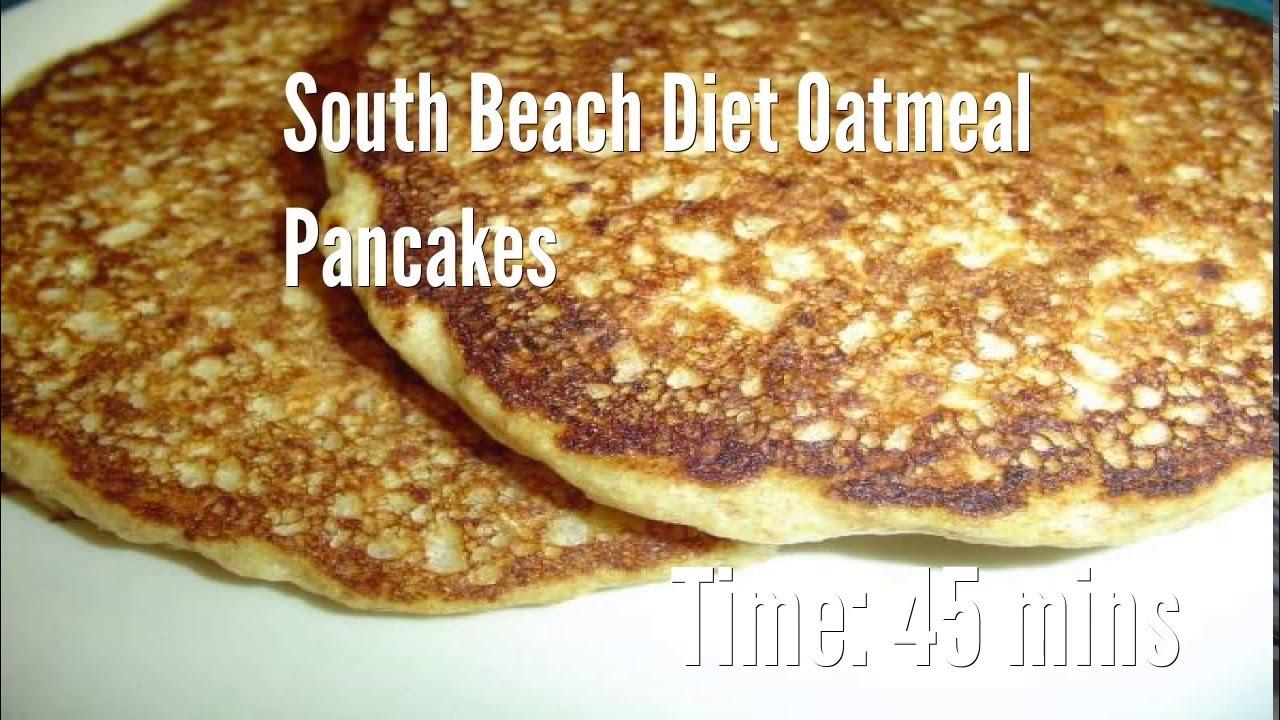 south beach diet oatmeal pancakes