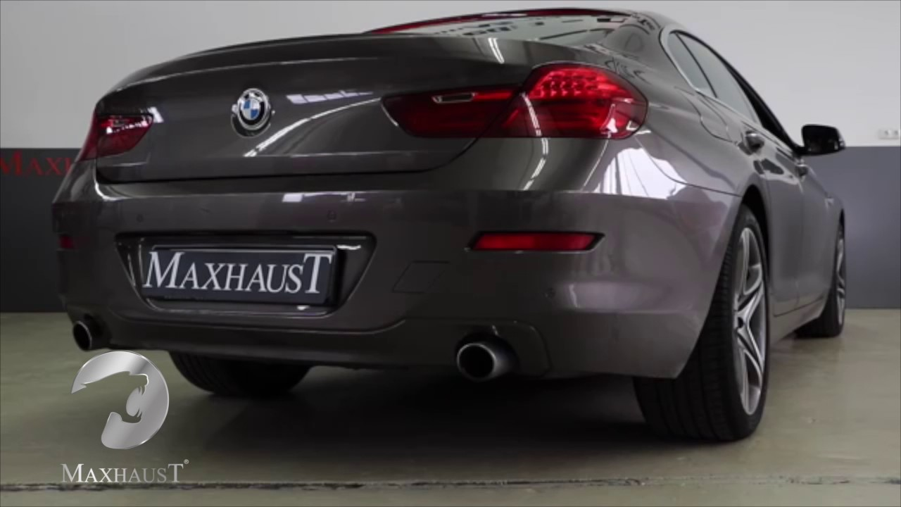 bmw 640d exhaust sound maxhaust active sound booster. Black Bedroom Furniture Sets. Home Design Ideas