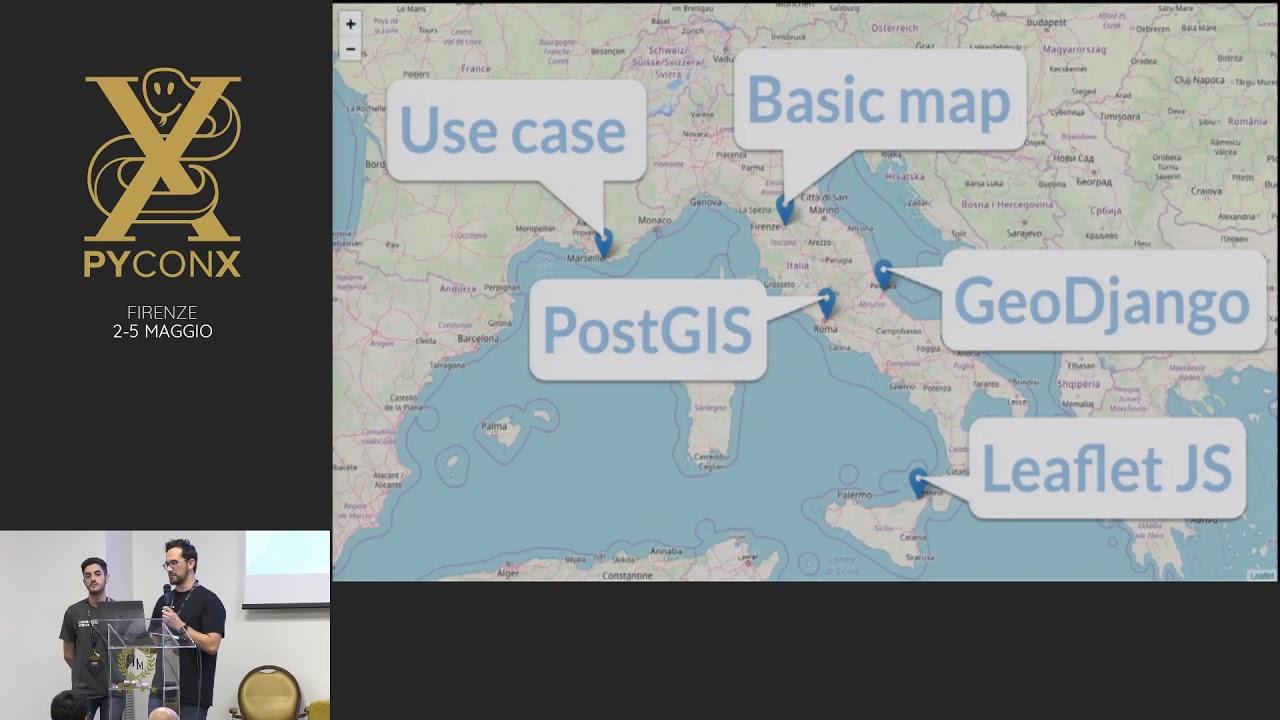 Image from Mappe 🗺️ con GeoDjango 🌎, PostGIS 🐘 e Leaflet 🍃