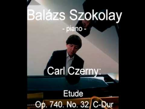 Carl Czerny: Etude Op. 740. No. 32. C-Dur - Balázs Szokolay