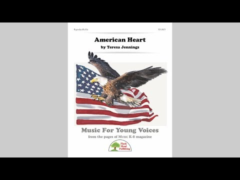 American Heart - MusicK8.com Page Turner