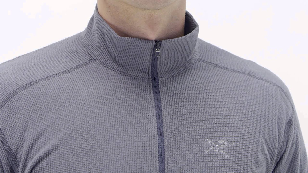 54b40e7355 Arc'teryx Men's Delta LT Zip Shirt - YouTube